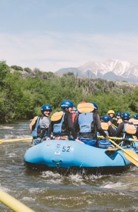 Browns Canyon Rafting - Half Day Trip