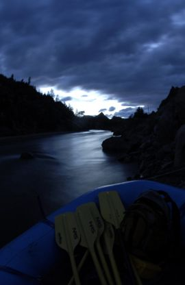 Overnight Rafting in Browns Canyon
