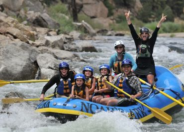 Watch VIDEO footage of Arkansas River rafting & hear customer reviews!