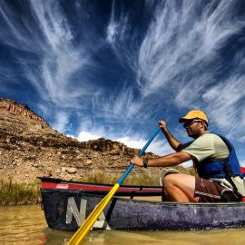 Colorado canoeing trips on the Gunnison River.